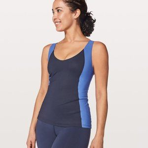 Lululemon LONG Breath 2 in 1 Tank Size 8 Strappy B